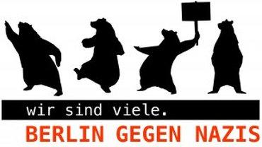Logo der Mobilisierungsplattform Berlin gegen Nazis