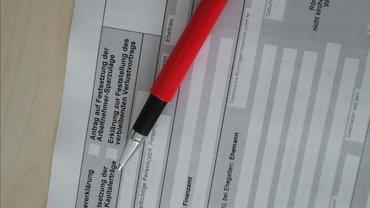 Steuer Antrag