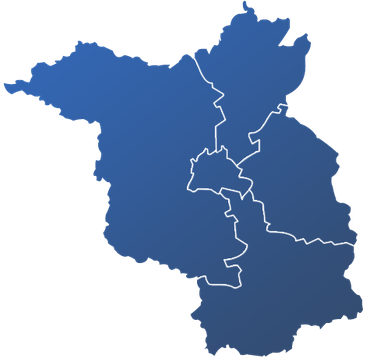 Karte Berlin-Brandenburg