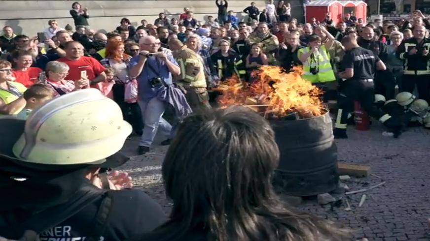 Arbeitsbedingungen Berliner Feuerwehr