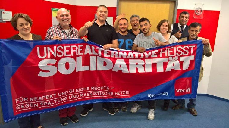ver.di Landesmigrationsausschuss Berlin-Brandenburg 2018 Wahlen