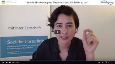 Soziale Sicherung von Plattformarbeit: Was bleibt zu tun?