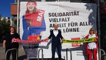 Die Landesbezirksleitung Berlin-Brandenburg zum Tag der Arbeit 2020
